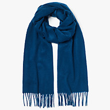 Buy Becksondergaard Dinah Wool Scarf, Enamel Blue Online at johnlewis.com