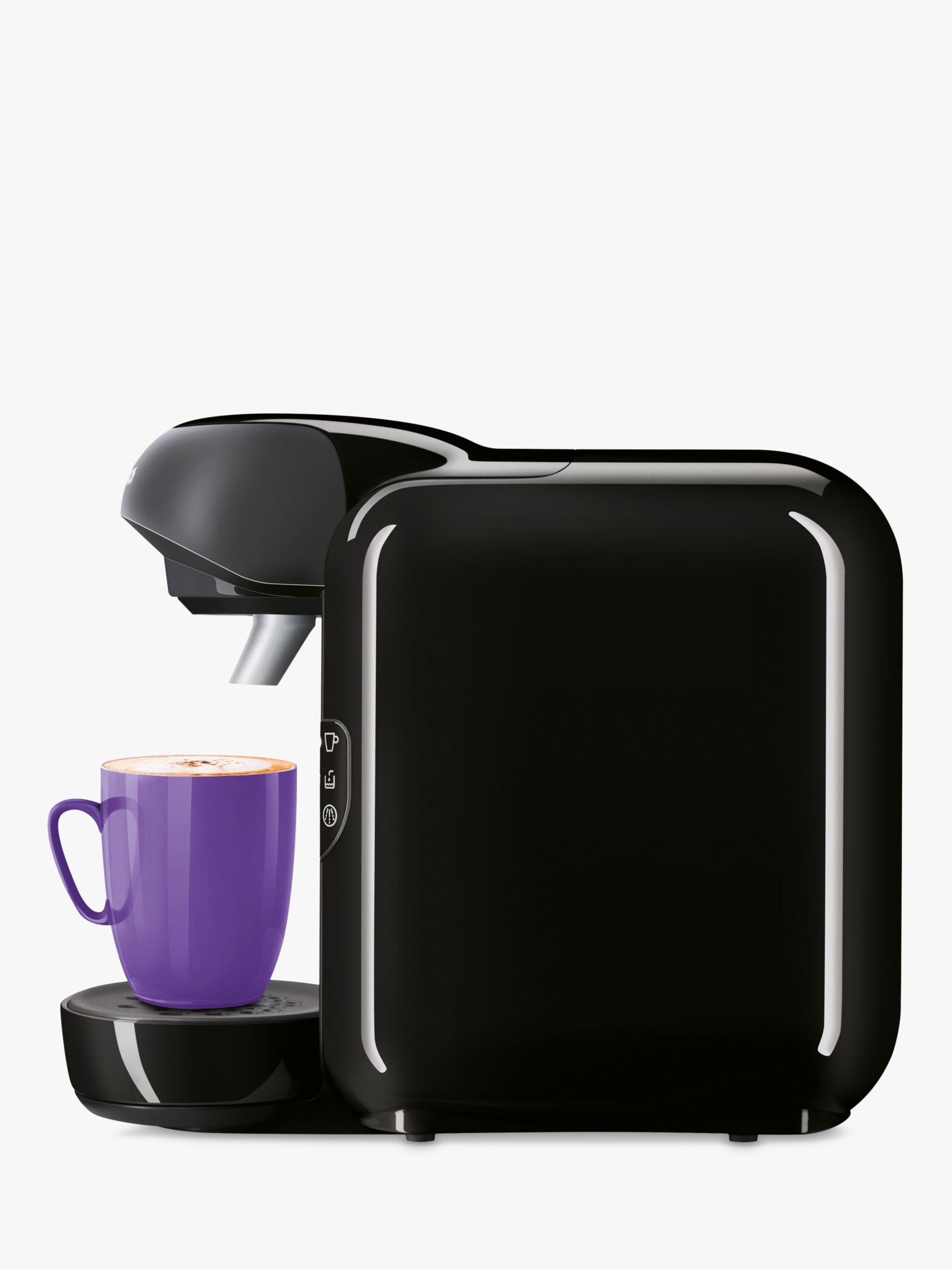 John Lewis Bosch Tassimo Coffee Maker : Buy Tassimo Vivy II Coffee Machine by Bosch, Black John Lewis
