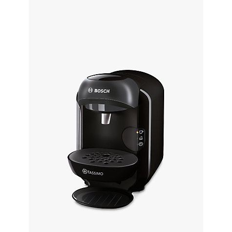 buy tassimo vivy ii coffee machine by bosch black john lewis. Black Bedroom Furniture Sets. Home Design Ideas