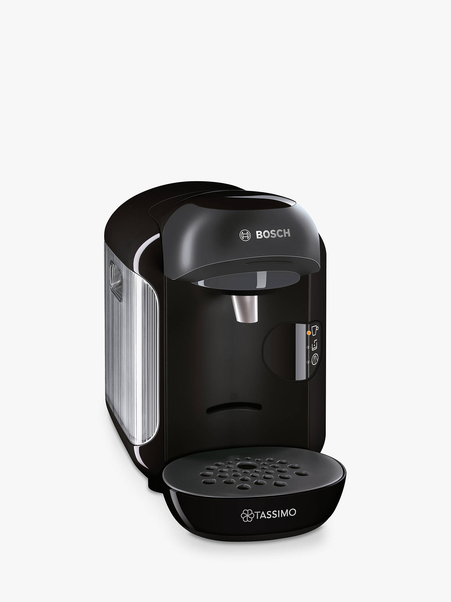 Buy Tassimo Vivy Coffee Machine by Bosch, Black Online at johnlewis.com