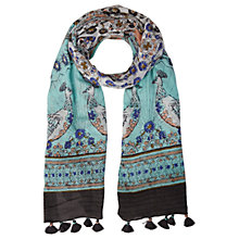 Buy White Stuff Belle Birds Scarf, Multi Online at johnlewis.com