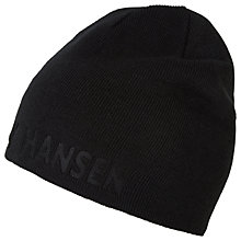 Buy Helly Hansen Outline Reversible Beanie Hat, One Size, Black/Grey Online at johnlewis.com