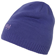 Buy Helly Hansen Brand Beanie Hat, One Size Online at johnlewis.com