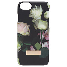 Buy Ted Baker Earlee Kensington Floral iPhone Case, Black Online at johnlewis.com