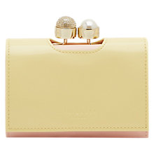 Buy Ted Baker Emmey Leather Small Pearl Bobble Purse Online at johnlewis.com