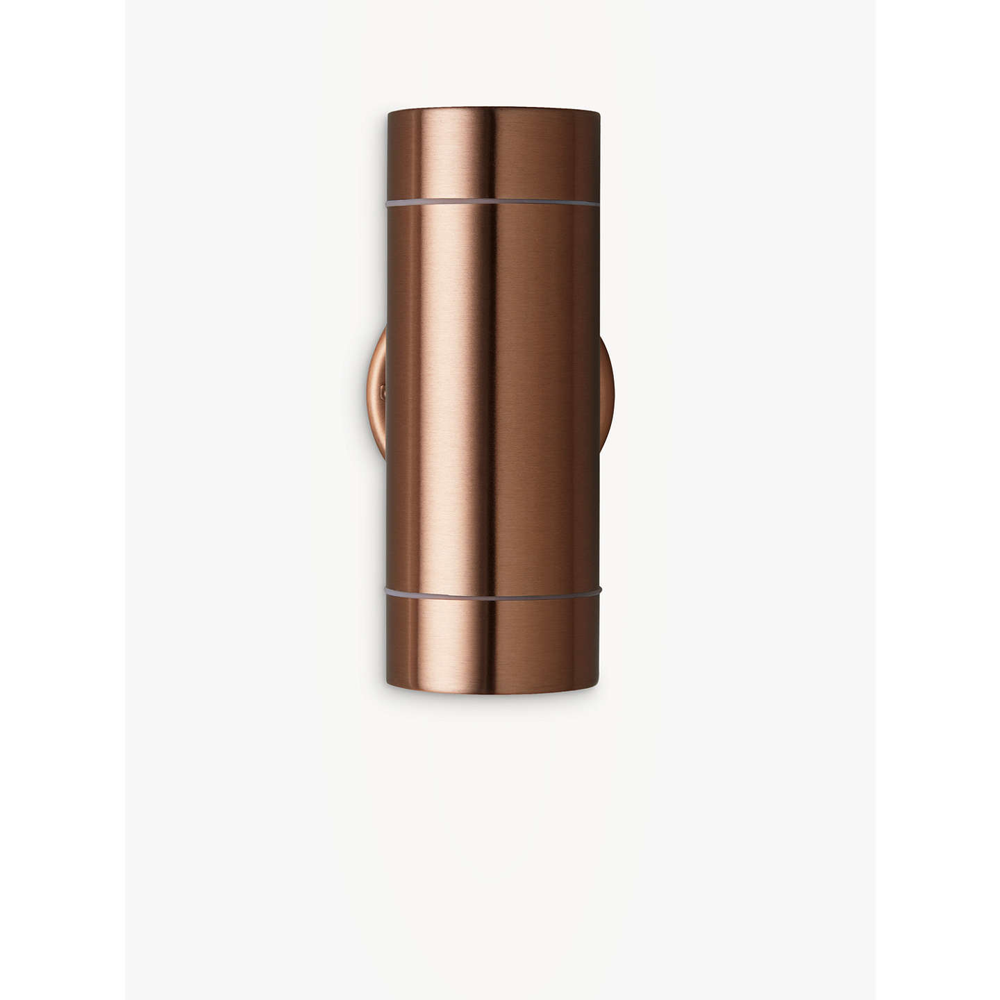 John lewis strom led outdoor wall light at john lewis buyjohn lewis strom led outdoor wall light copper online at johnlewis aloadofball Choice Image