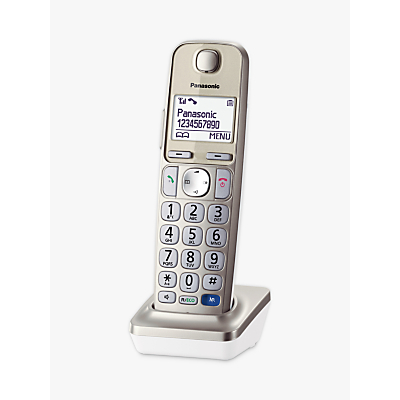 Panasonic KX-TGEA20EN, Additional Big Button Handset for Panasonic KX-TGE220EN