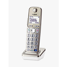 Buy Panasonic KX-TGEA20EN, Additional Big Button Handset for Panasonic KX-TGE220EN Online at johnlewis.com