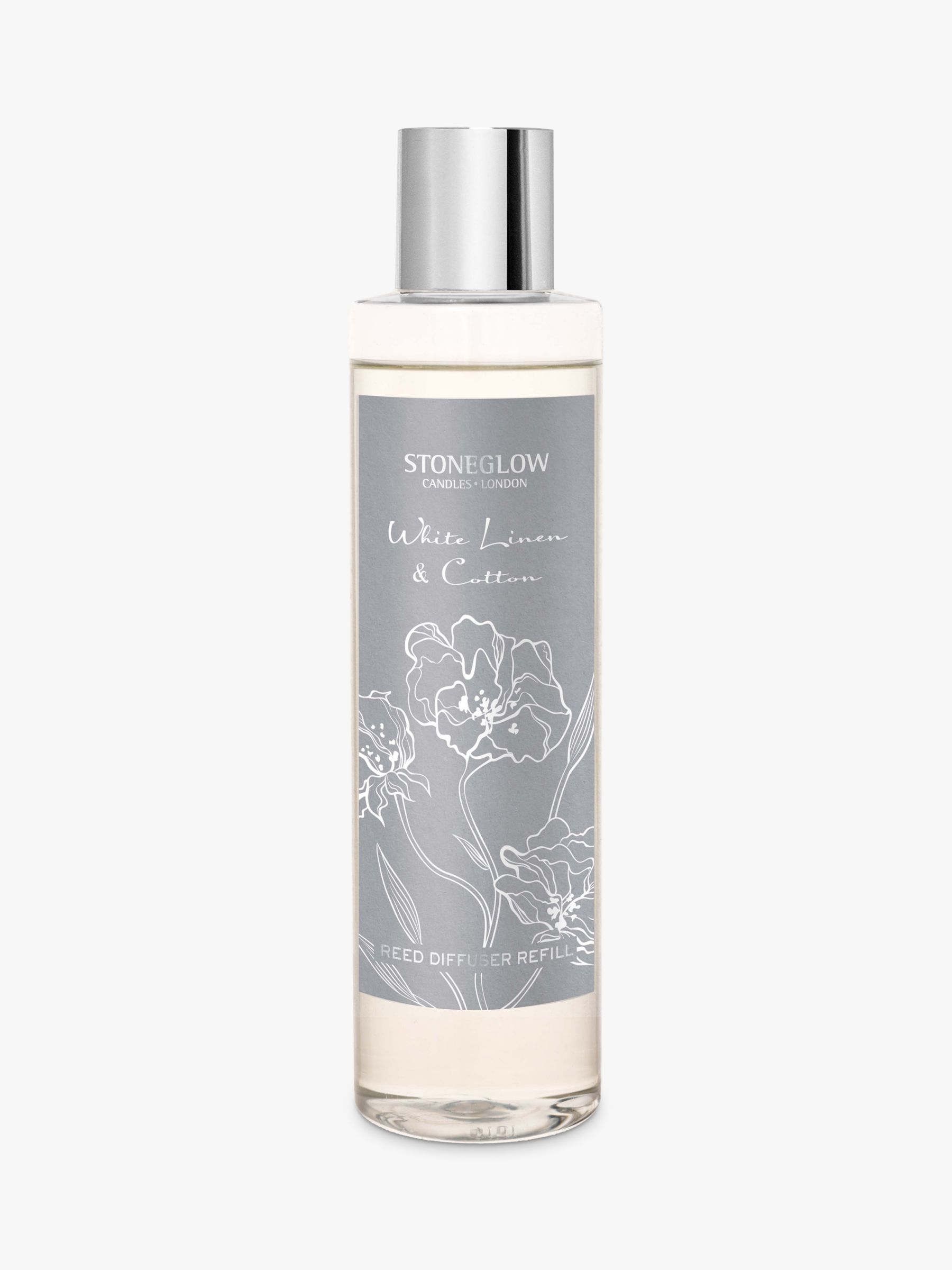 Stoneglow Stoneglow Day Flower White Linen & Cotton Diffuser Refill, 200ml