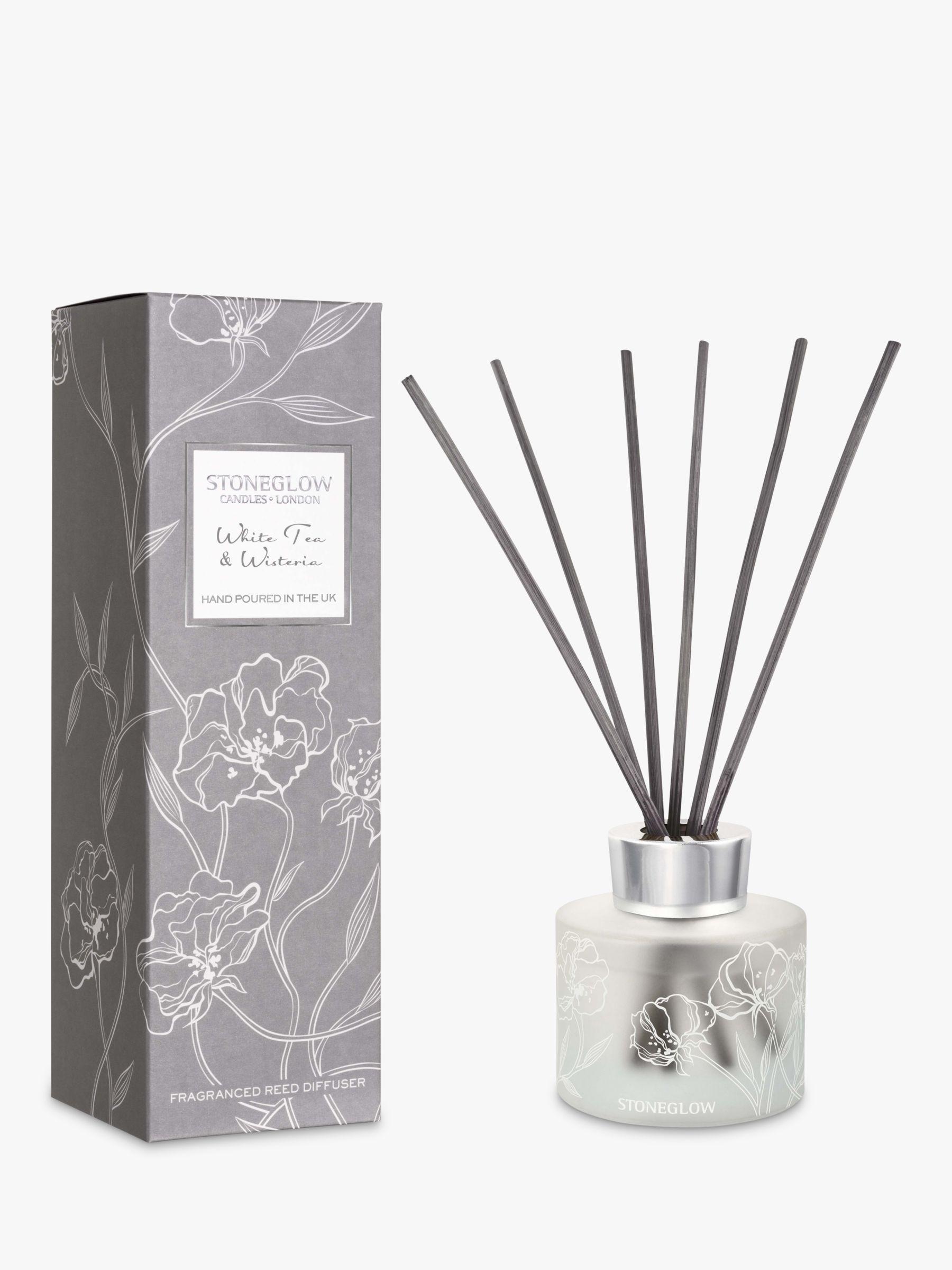 Stoneglow Stoneglow Day Flower White Tea & Wisteria Reed Diffuser, 120ml