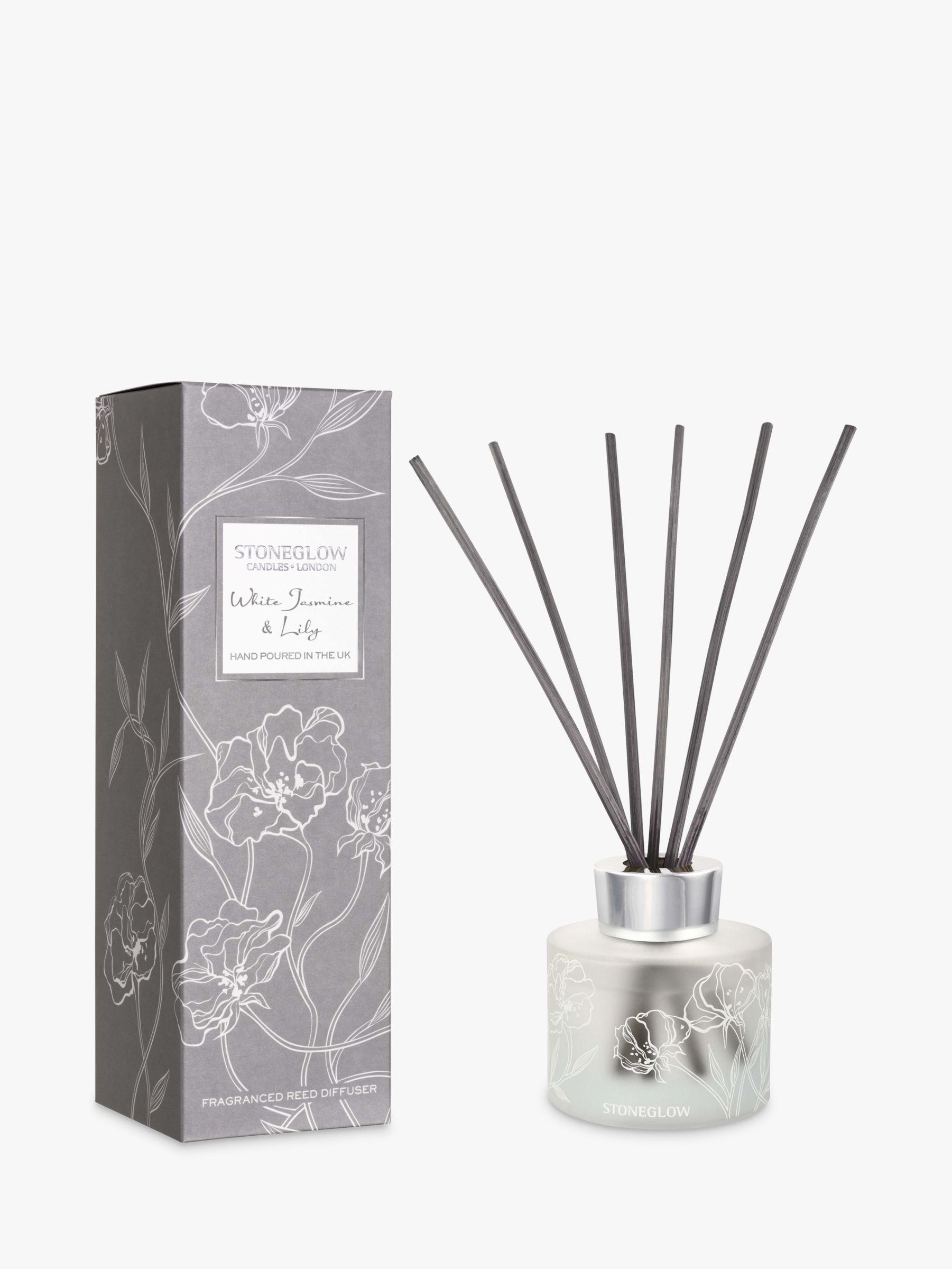 Stoneglow Stoneglow Day Flower White Jasmine & Lily Reed Diffuser, 120ml