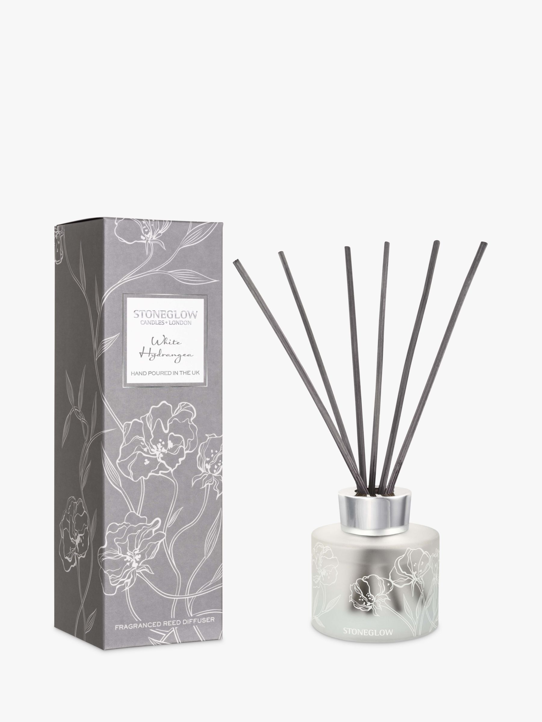 Stoneglow Stoneglow Day Flower White Hydrangea Reed Diffuser, 120ml