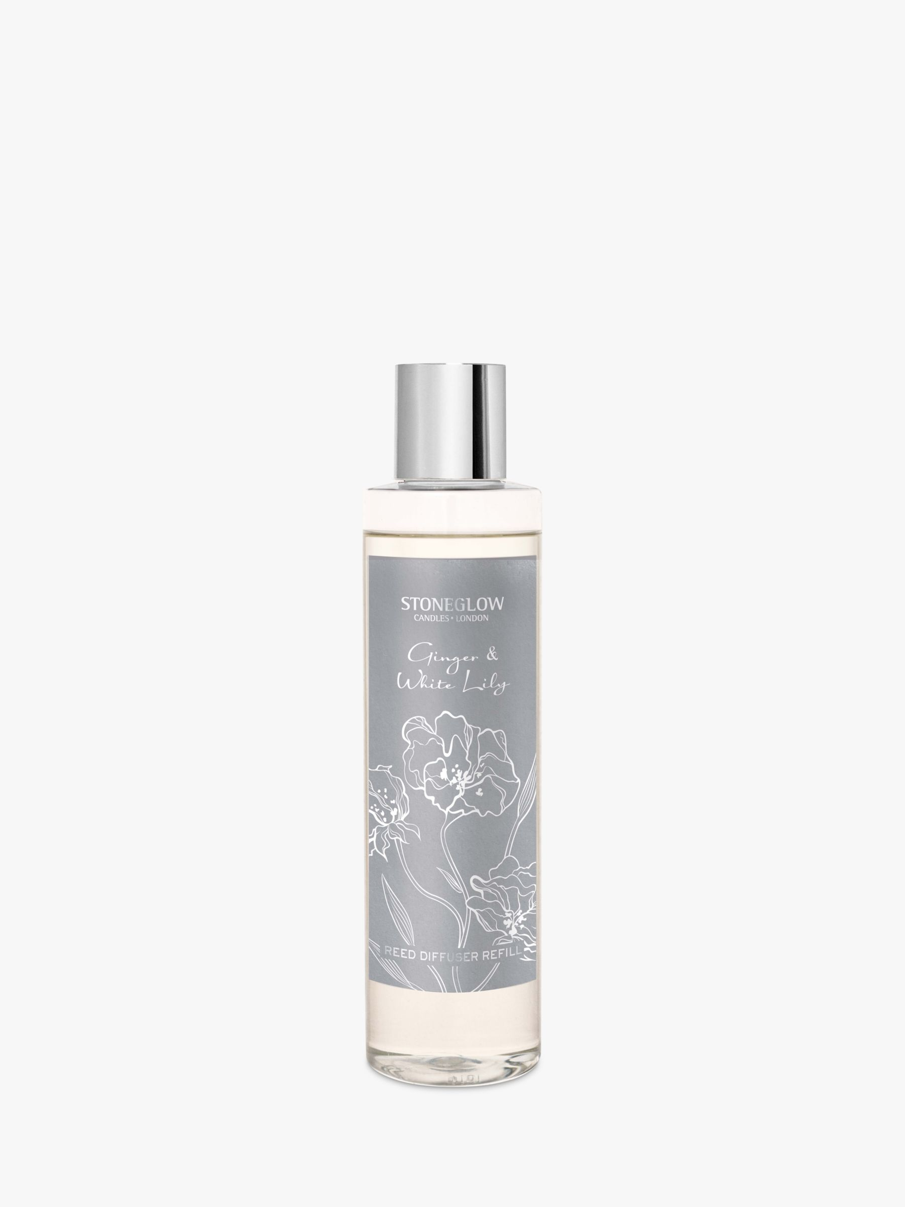 Stoneglow Stoneglow Day Flower Ginger & White Lily Diffuser Refill, 200ml