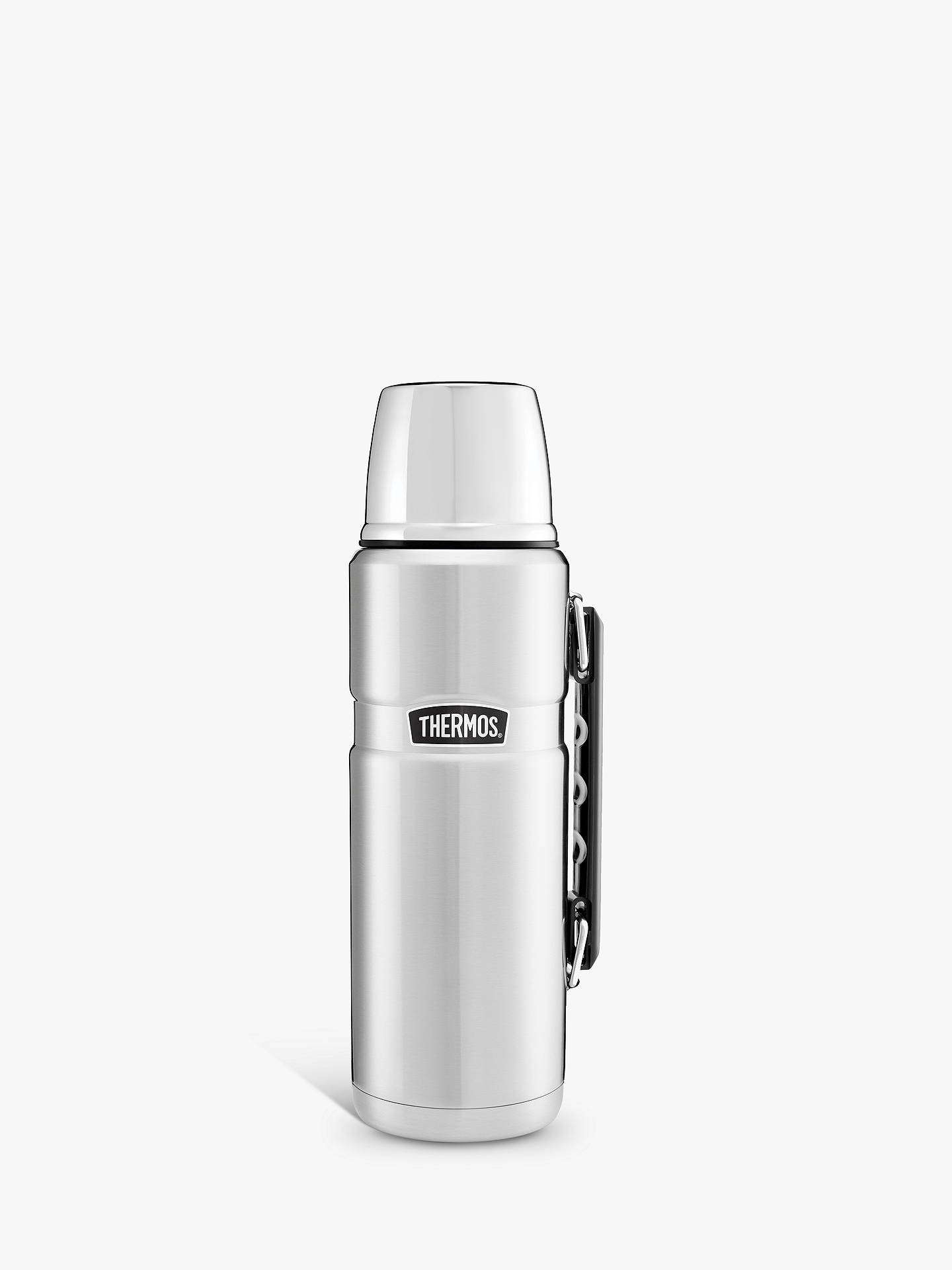 Buy Thermos King Flask, Stainless Steel, 1.2L Online at johnlewis.com