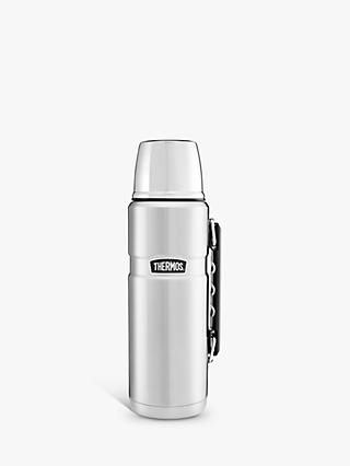 Thermos King Flask, Stainless Steel, 1.2L