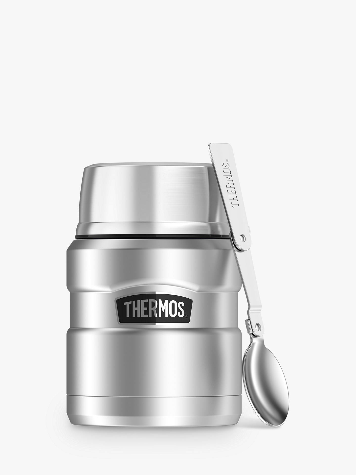 Buy Thermos King Food Flask, Stainless Steel, 470ml Online at johnlewis.com
