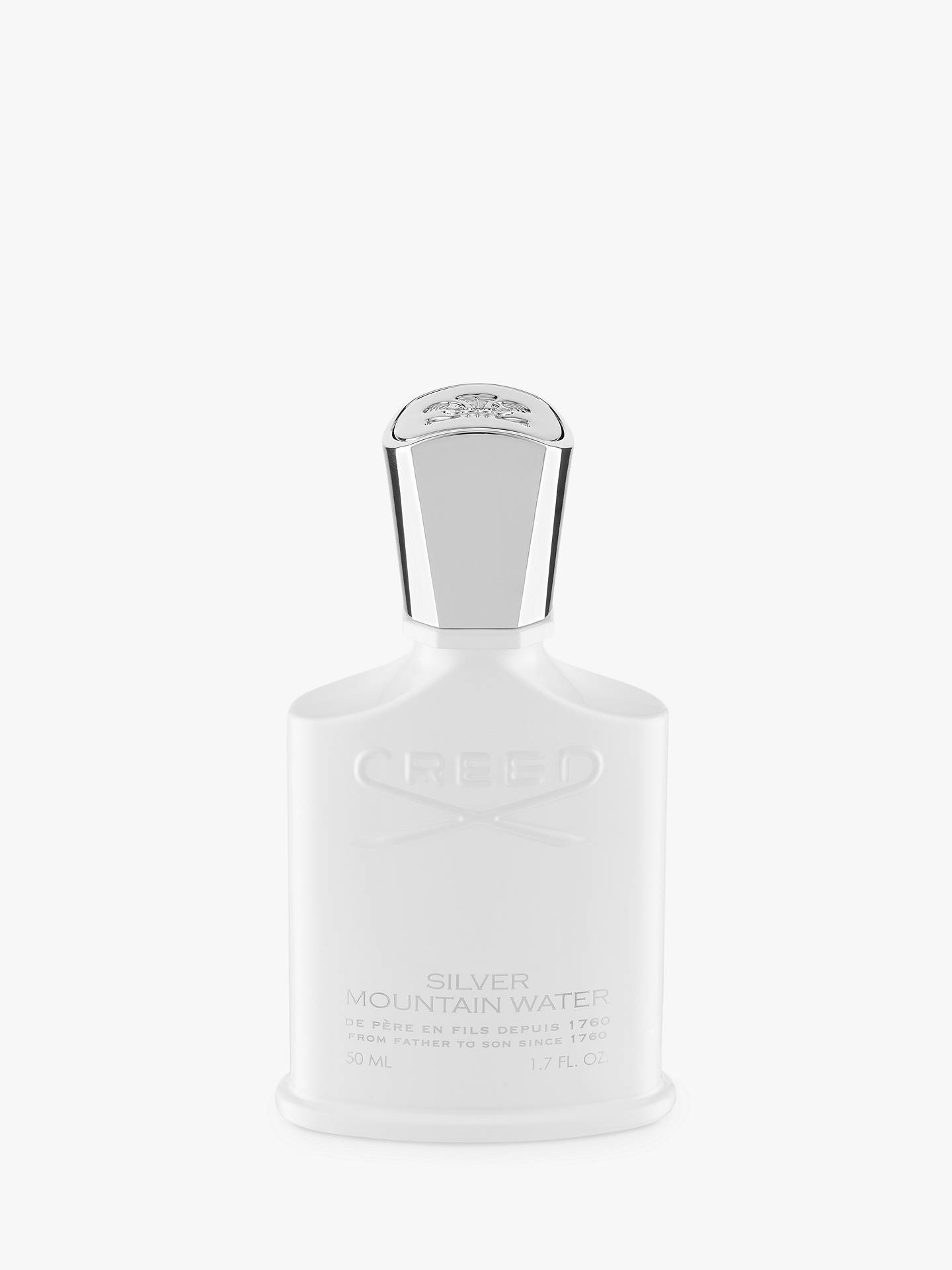 Creed Silver Mountain Water Eau De Parfum 50ml At John Lewis Partners