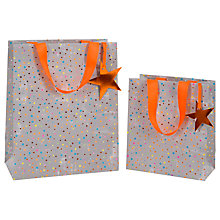 Buy Paper Salad Star Gift Bag, Large Online at johnlewis.com