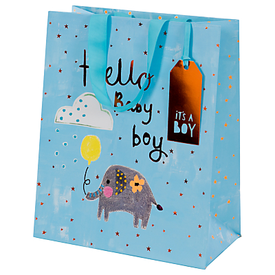 Image of Paper Salad Hello Baby Gift Bag, Large