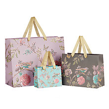 Buy John Lewis Tapestry Floral Gift Bag Online at johnlewis.com