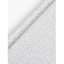 Buy John Lewis Grey Ditsy Floral Heart Gift Wrap, 3m Online at johnlewis.com