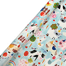 Buy Paper Salad Farm Yard Roll Wrap, 2m Online at johnlewis.com