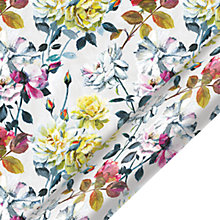 Buy Designers Guild Couture Floral Gift Wrap, 3m Online at johnlewis.com