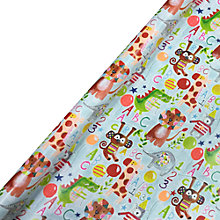 Buy Paper Salad Jungle Animals Gift Wrap, 4m Online at johnlewis.com