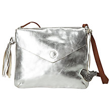 Buy White Stuff Mandy Crossbody Bag, Silver Online at johnlewis.com