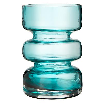 John Lewis Scandi Cylinder Vase, Green