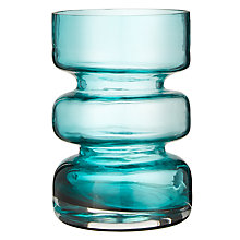 Buy John Lewis Scandi Cylinder Vase, Green Online at johnlewis.com