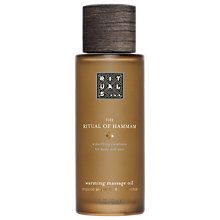 Buy Rituals The Ritual Of Hammam Warming Massage Oil, 100ml Online at johnlewis.com