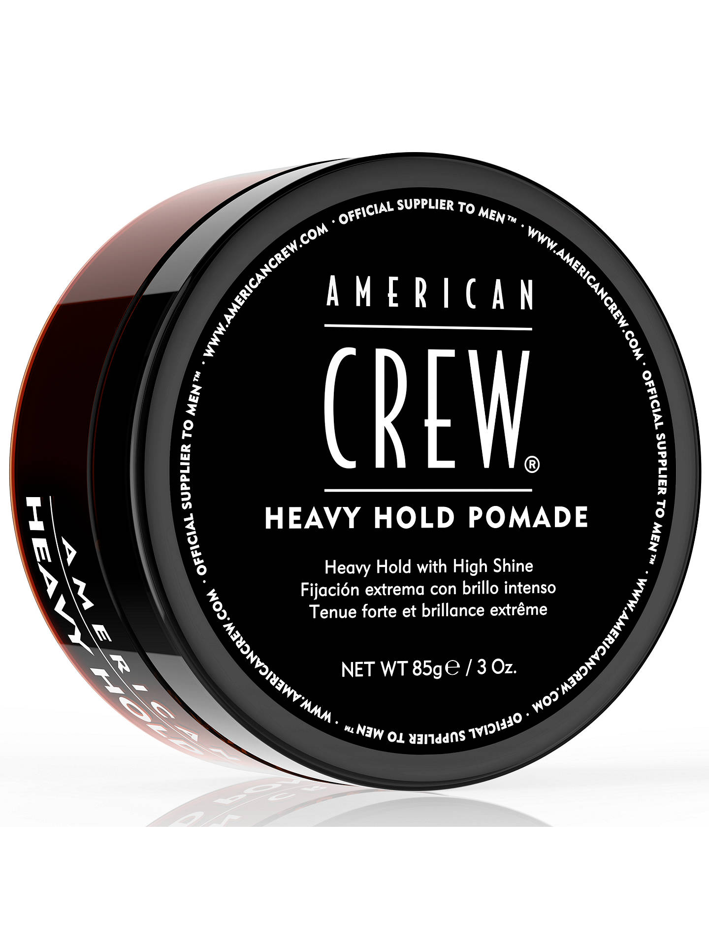 Buy American Crew Heavy Hold Pomade, 85g Online at johnlewis.com