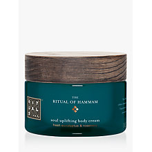 Buy Rituals The Ritual Of Hammam Soul Uplifting Body Cream, 220ml Online at johnlewis.com
