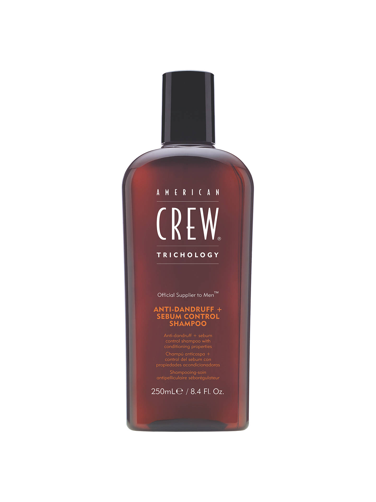 Buy American Crew Anti-Dandruff + Sebum Control Shampoo, 250ml Online at johnlewis.com