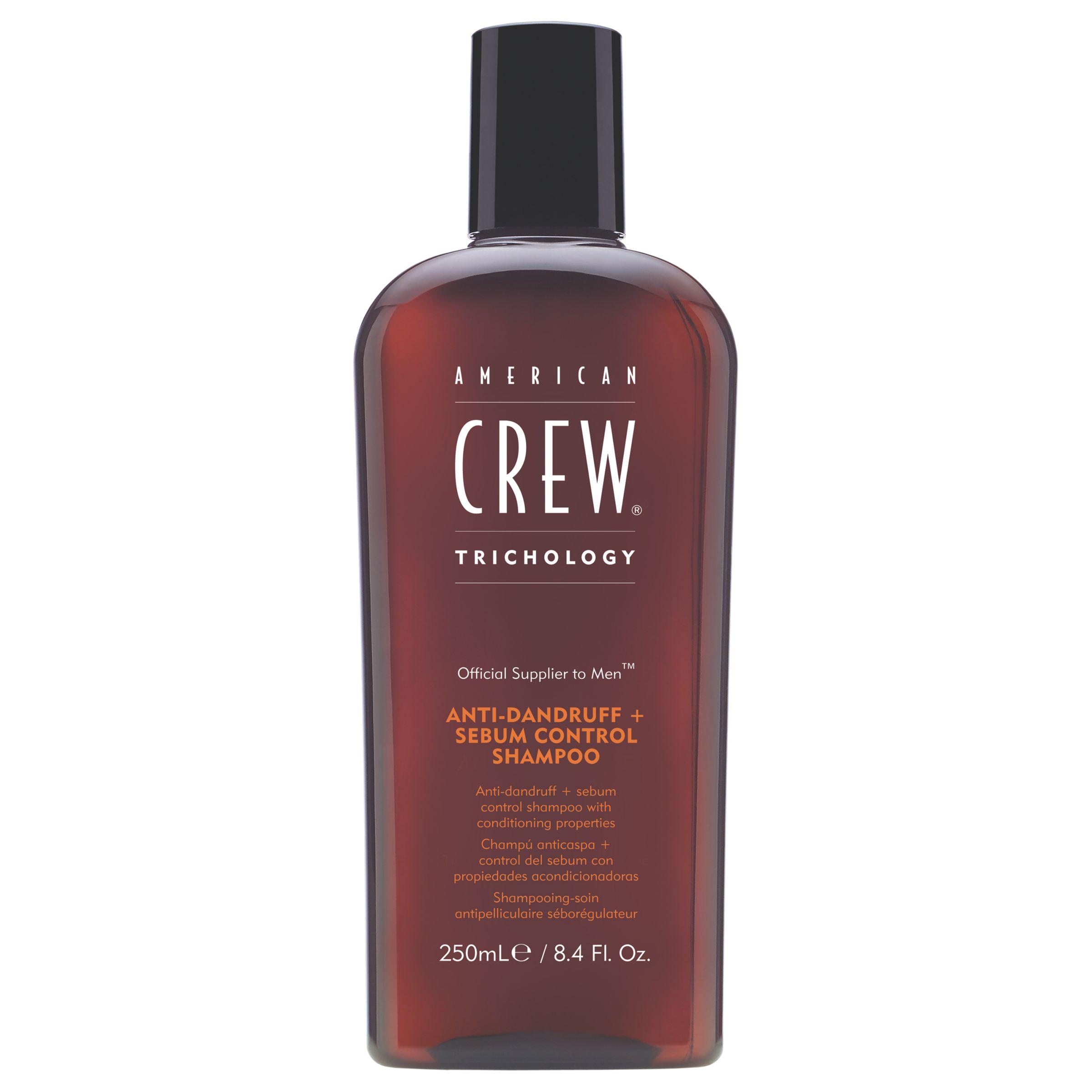 American Crew American Crew Anti-Dandruff + Sebum Control Shampoo, 250ml