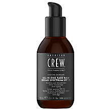Buy American Crew All-In-One Face Balm Broad Specture SPF 15, 150ml Online at johnlewis.com