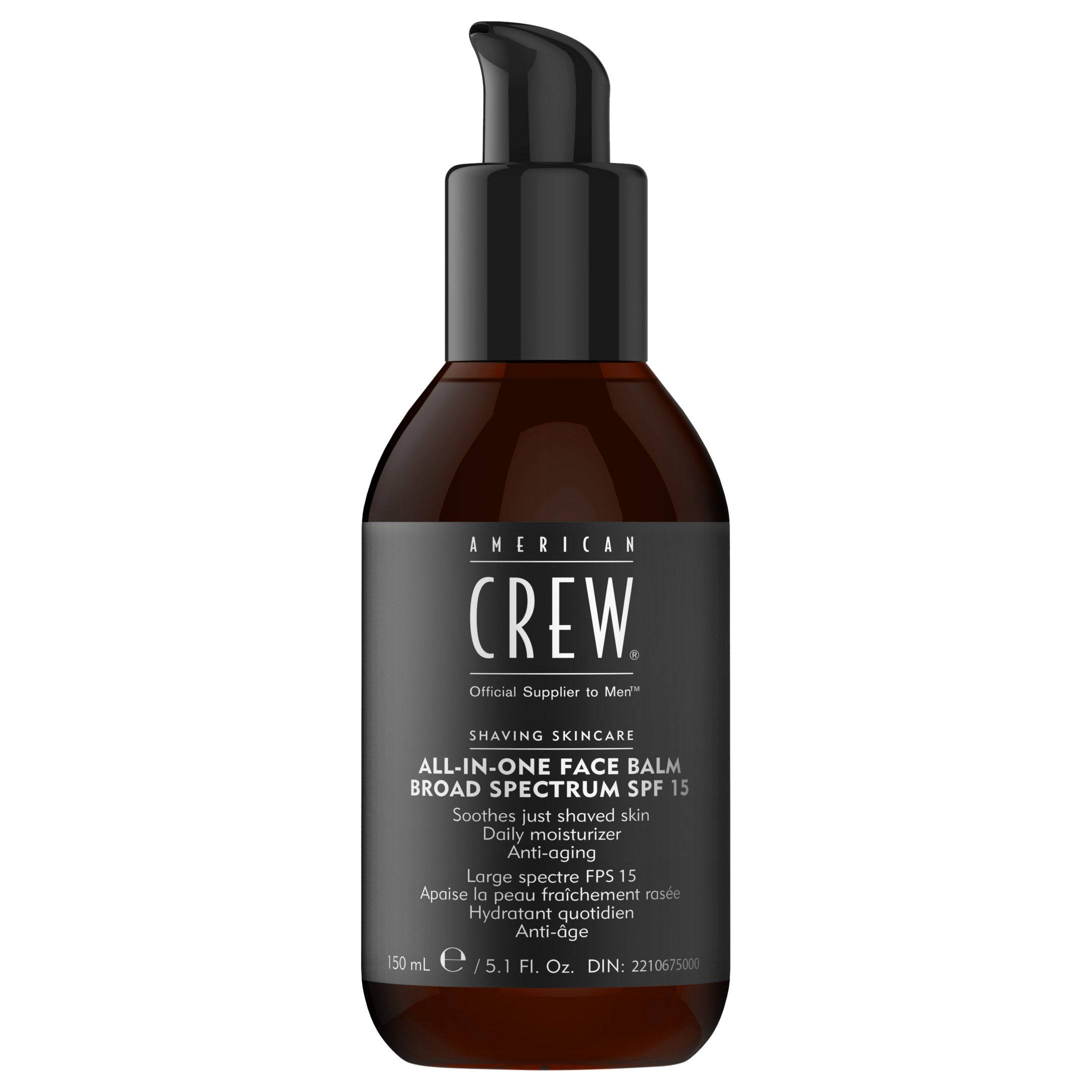 American Crew American Crew All-In-One Face Balm Broad Specture SPF 15, 150ml