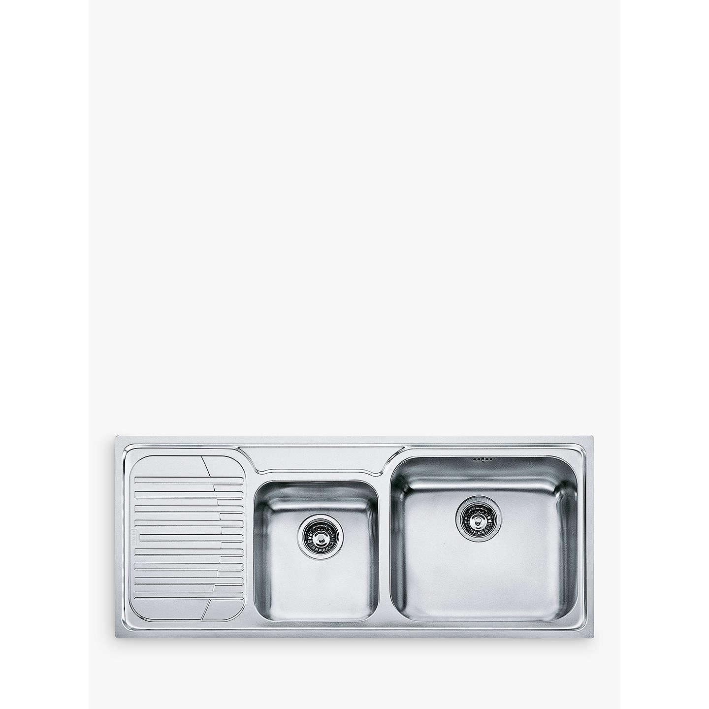 Franke Galassia GAX 621 Kitchen Sink With 2 Bowls, Stainless Steel ...
