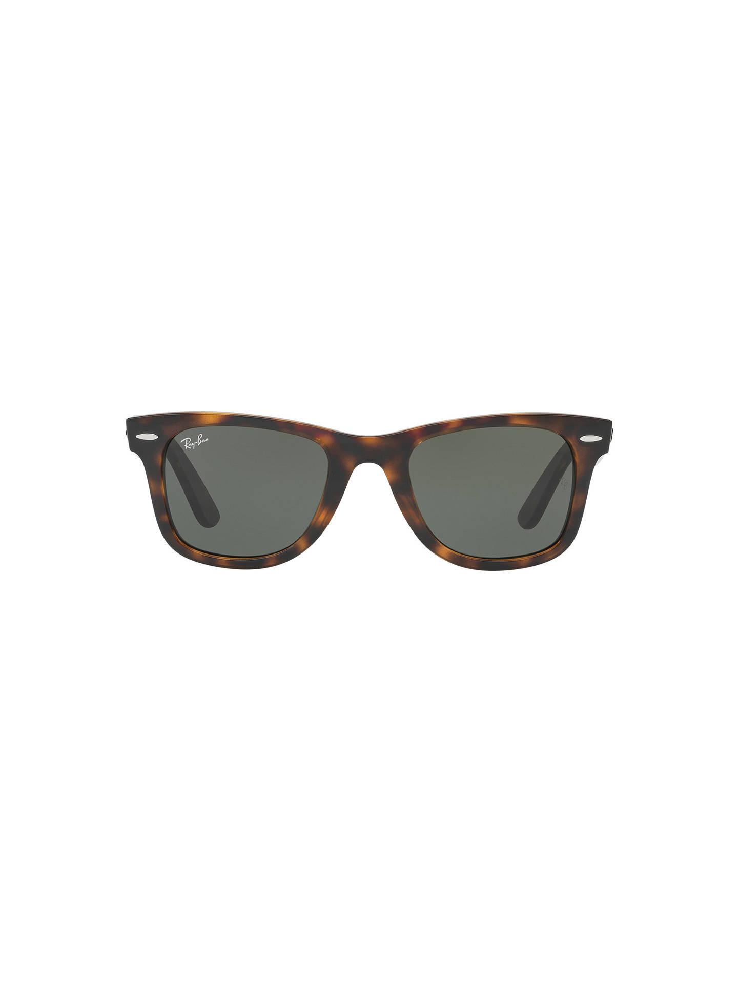 c15d4822ee9 shop ray ban 0rb4340 wayfarer ease blue sun 272c9 e7bf4  denmark 50 off  buyray ban rb4340 wayfarer sunglasses tortoise grey online at johnlewis  4862e f1e95 ...