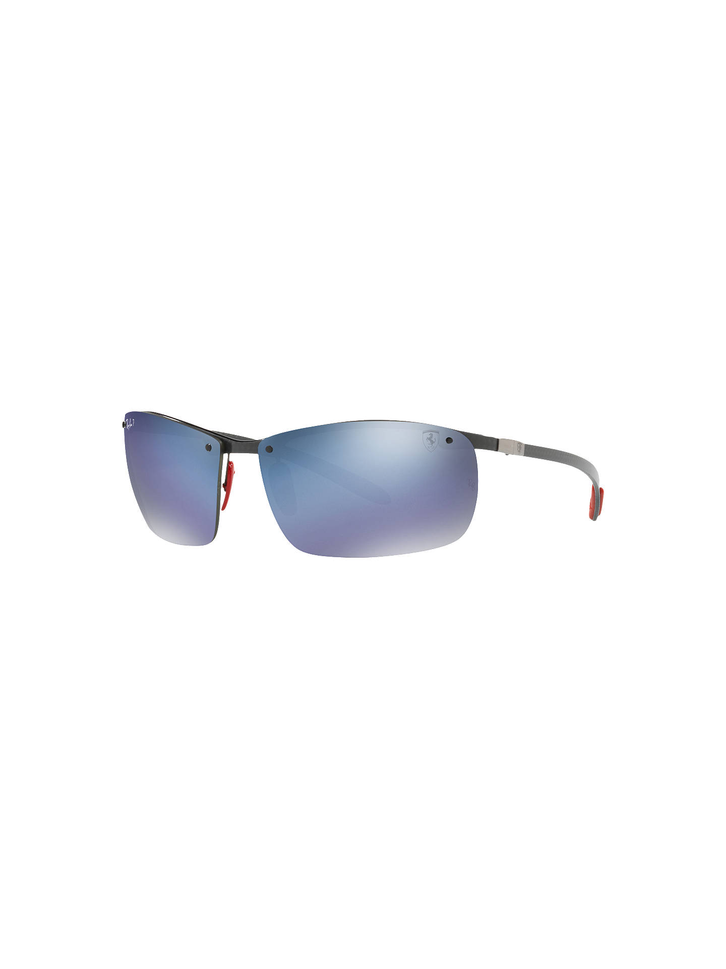 b81742e11a BuyRay-Ban RB8305M Polarised Scuderia Ferrari Collection Rectangular  Sunglasses