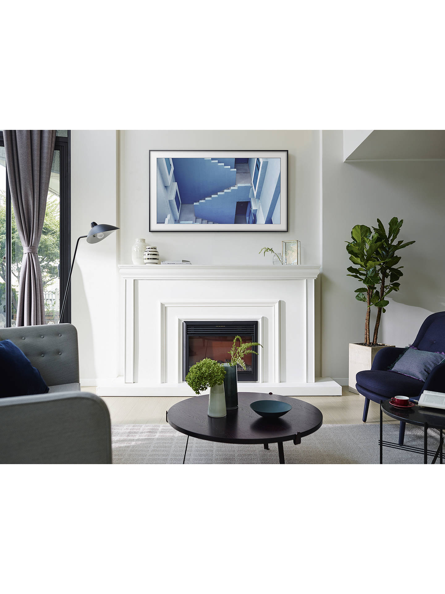 Buy samsung the frame art mode tv with no gap wall mount 55