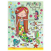 Buy Rachel Ellen Mermaid Writing Set Online at johnlewis.com
