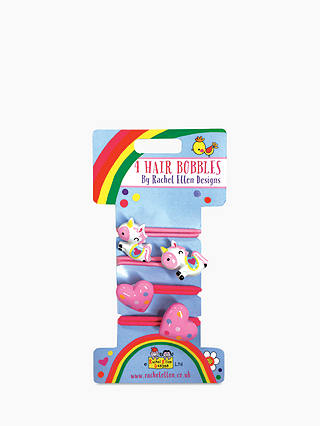 Buy Rachel Ellen Unicorn Hair Bobbles, Pack of 4 Online at johnlewis.com
