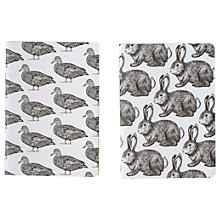 Buy Art File Bound & Dash A6 Notebook, Pack of 2 Online at johnlewis.com