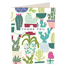 Buy Caroline Gardner Cactus Thank You Notecards, Pack of 10 Online at johnlewis.com