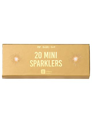 Talking Tables Gold Sparklers, Pack of 20