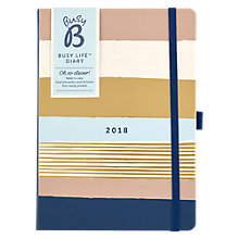 Buy Busy B Contemporary Stripe Life Diary Online at johnlewis.com