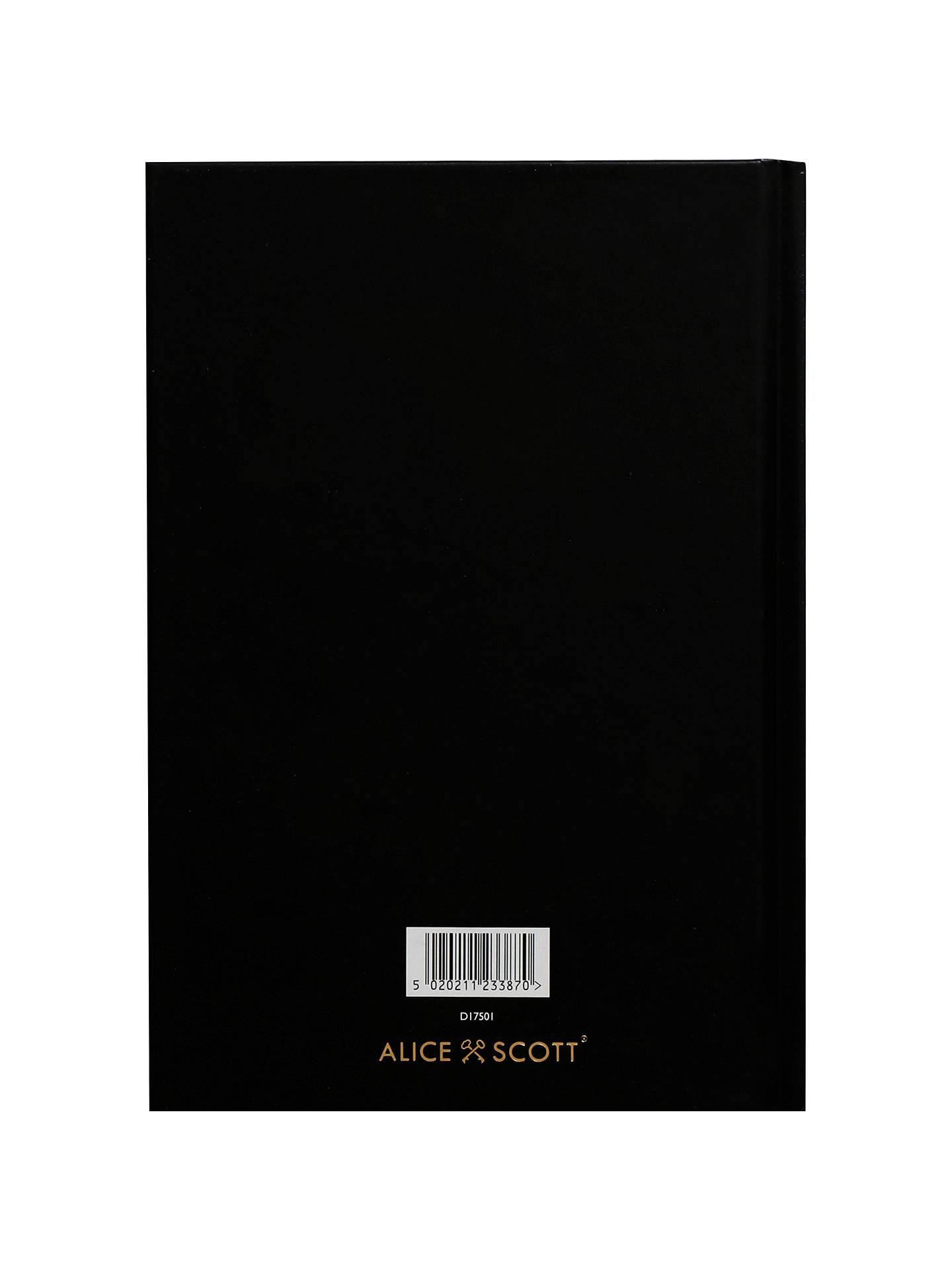 Buy Alice Scott A5 I Can And I Will Diary, Black Online at johnlewis.com