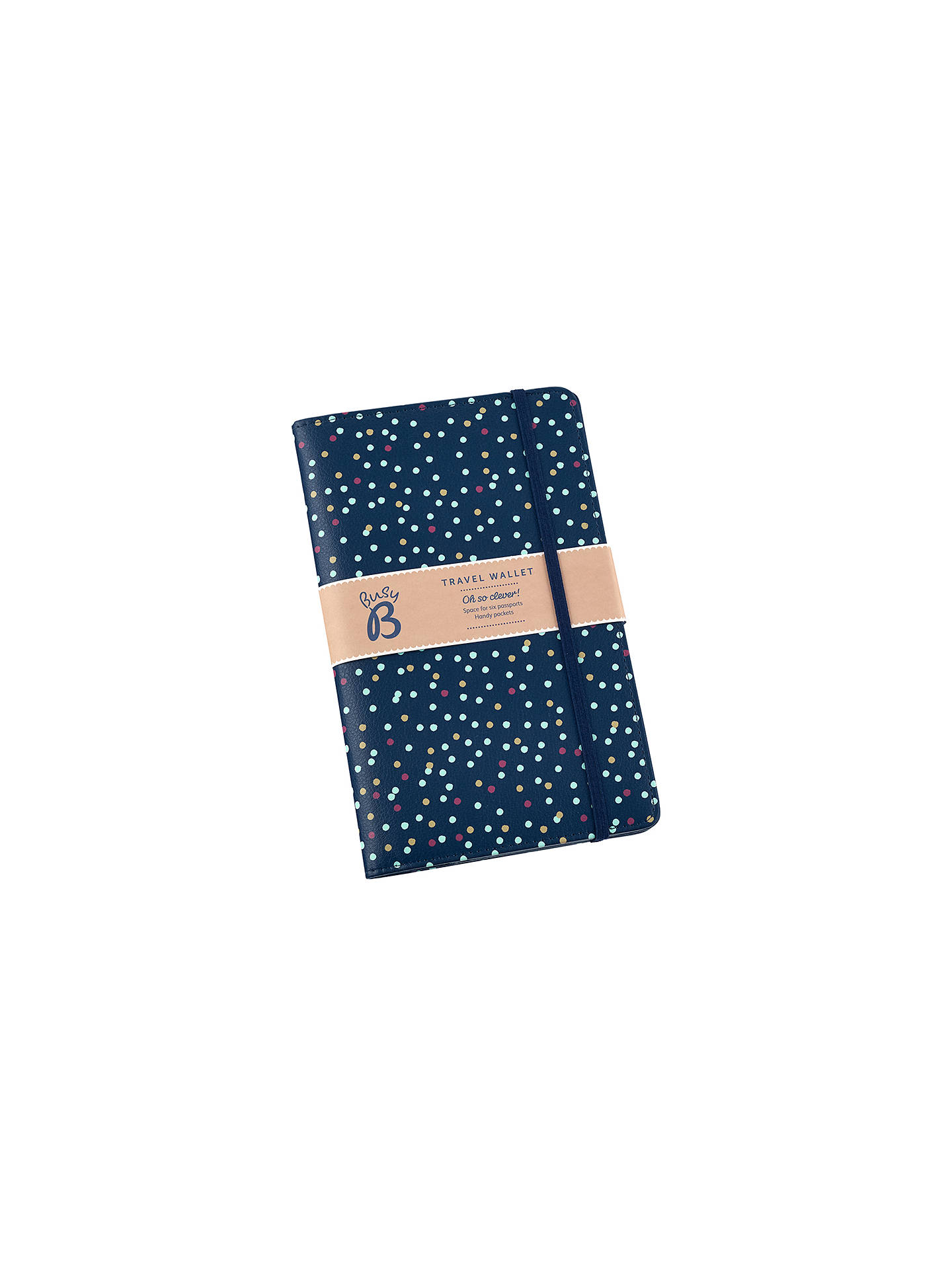 2a33f9f51145 Busy B Family Travel Wallet, Navy